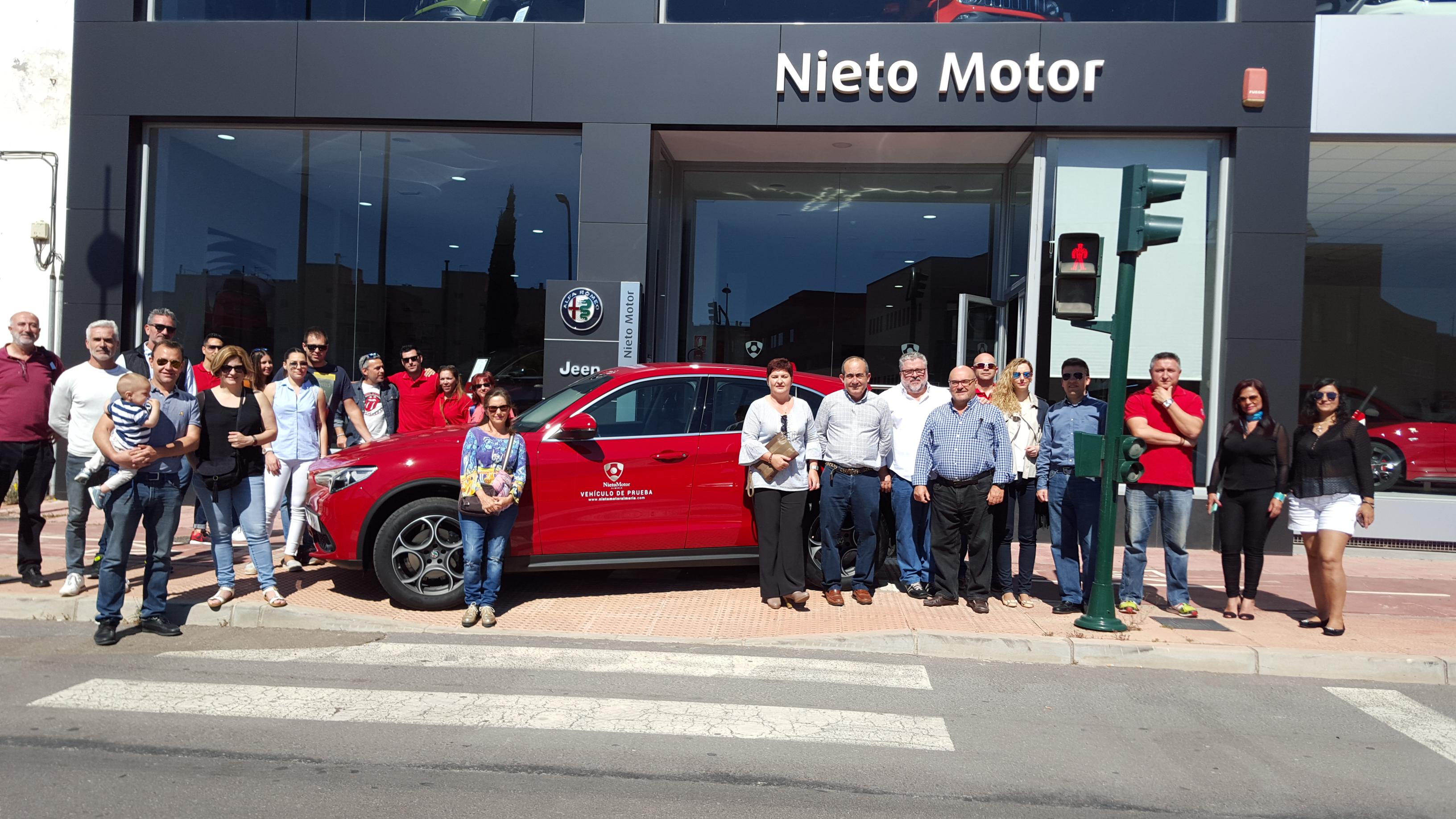 Presentación Stelvio Nieto Motor Almería