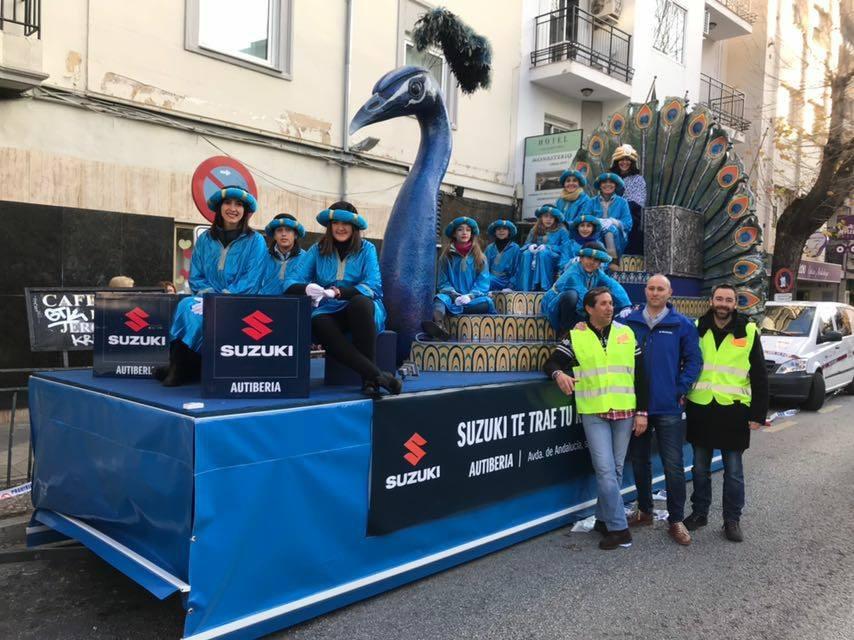 Suzuki Autiberia en la cabalgata de Reyes Magos de Granada