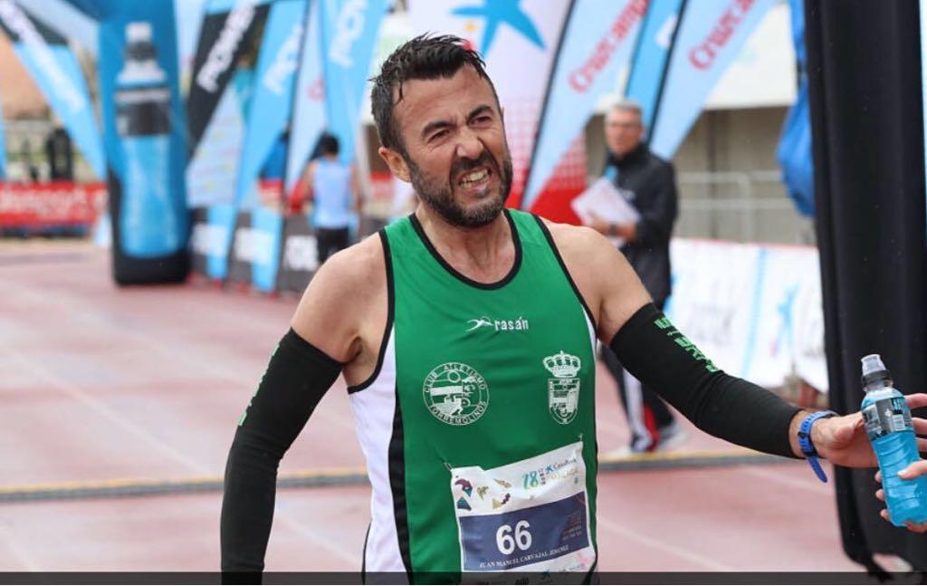 """Juan Manuel Carvajal Jiménez destaca en la """"Media Maratón de Málaga"""""""