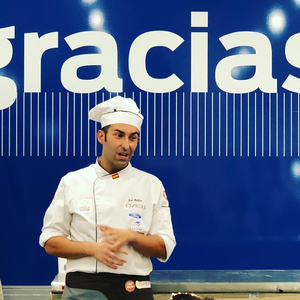 Evento panaderos con el maestro José Roldán