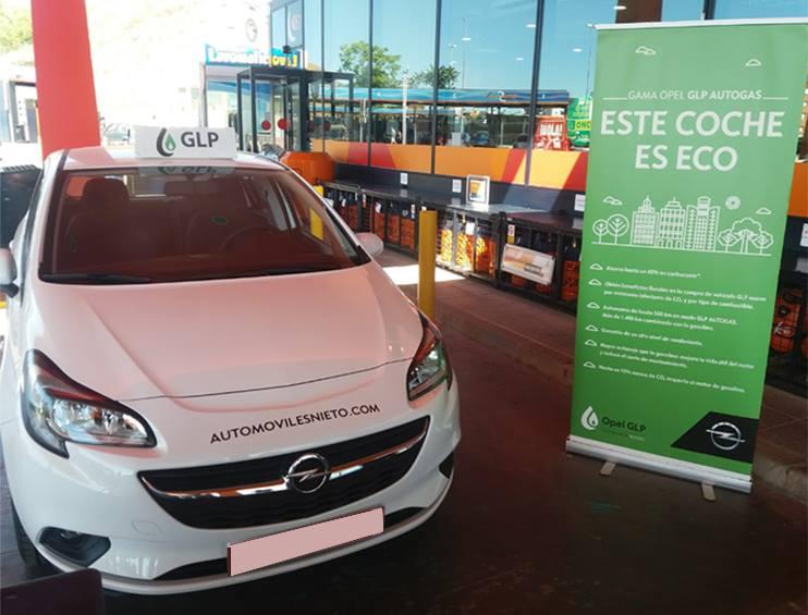 Nuestro Opel Corsa GLP ¡El más eco!