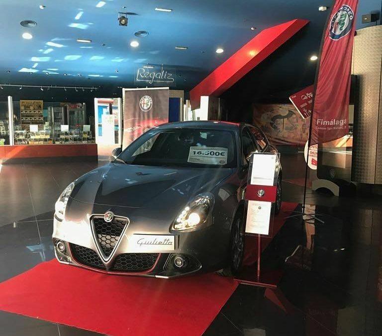 Alfa Romeo Fimálaga en Yelmo Cines Plaza Mayor