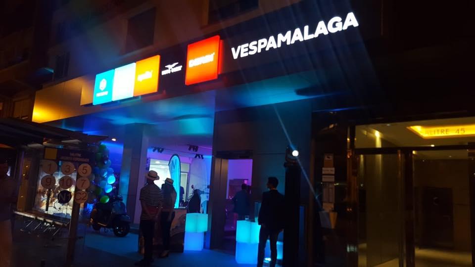 Inauguración Vespamálaga