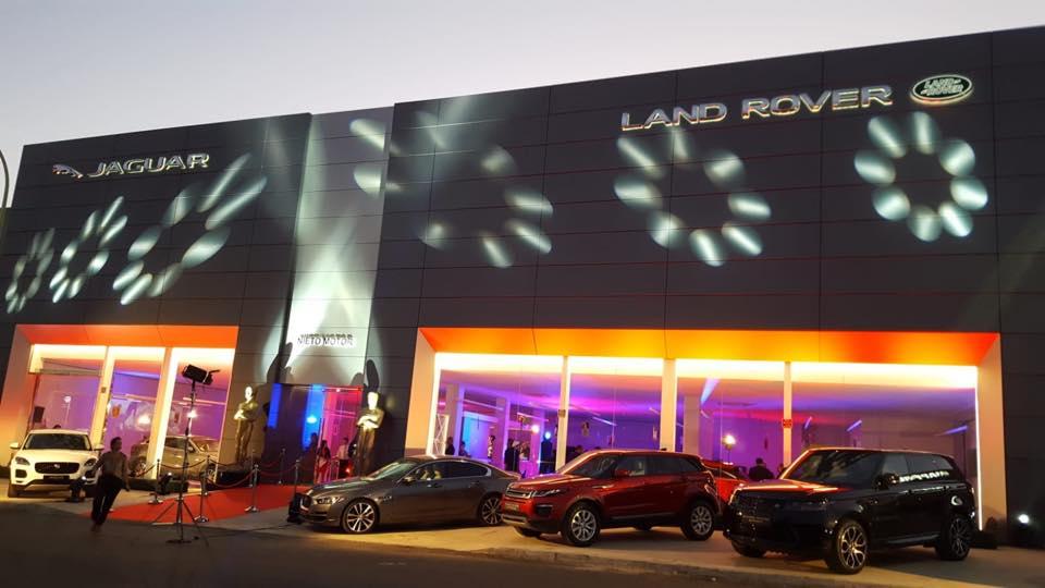 Nuestras nuevas instalaciones Jaguar Land Rover Nieto Motor Almería viven una inauguración estelar
