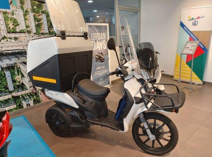 LlegaMymoover, un scooter que revolucionará el mundo del reparto.